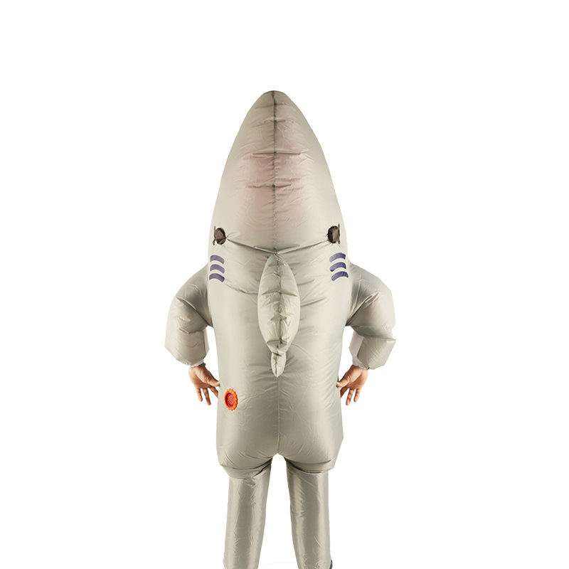 Sharks Doll Inflatable Clothing Party Funny Animal Inflatable Clothes Dance Props