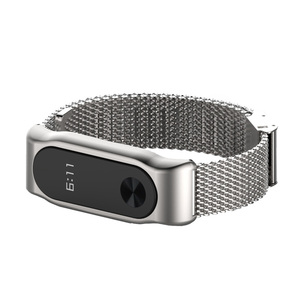 Image 4 - Mi Band 2 металлический ремешок на запястье браслет из нержавеющей стали для Xiaomi Mi Band 2 умные Аксессуары Часы Miband 5 4 3 2 браслет