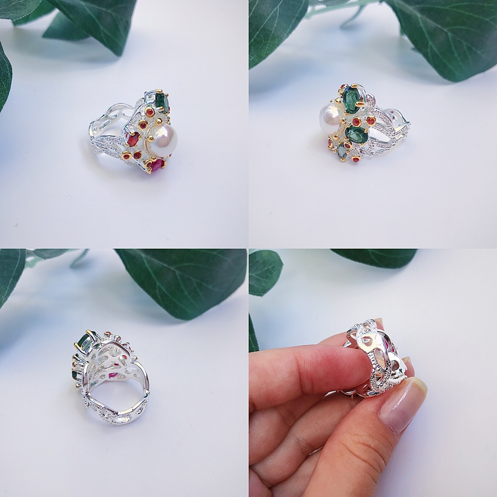 Image 4 - DreamCarnival 1989 Infinity Colors Series Women Rings Silver Gold Color Coated Gorgeous Shiny Zircon Jewelry of the Day WA11693-in Rings from Jewelry & Accessories