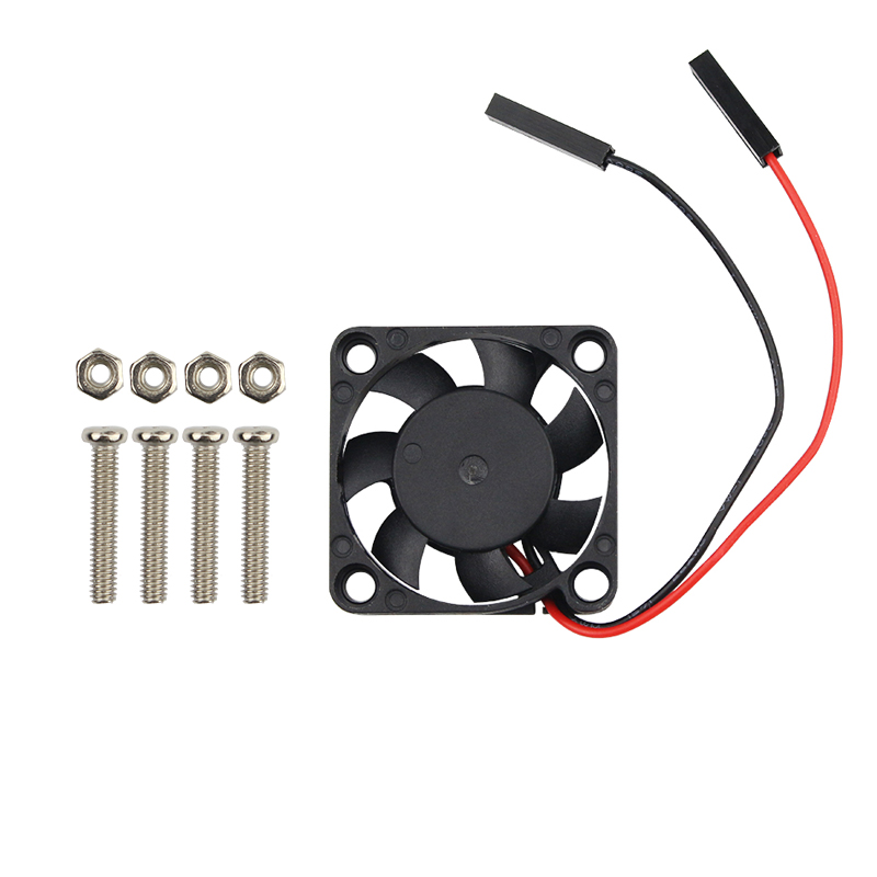 Raspberry Pi CPU Fan Cooling Fan Adjustable 3.3V 5V For Raspbery Pi 4B/3B+/3B For Orange Pi For Retroflag NESPi CASE+