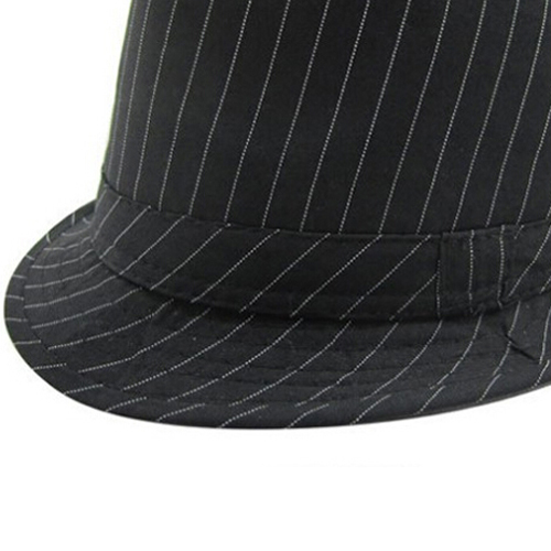 e9d28db43c0 Fashion Baby Hat Mixing Style Hot Sale Jazz Cap For Boy Girl Hat Newborn  Photography Prop Trilby Black Fine Stripes-in Hats   Caps from Mother   Kids  on ...