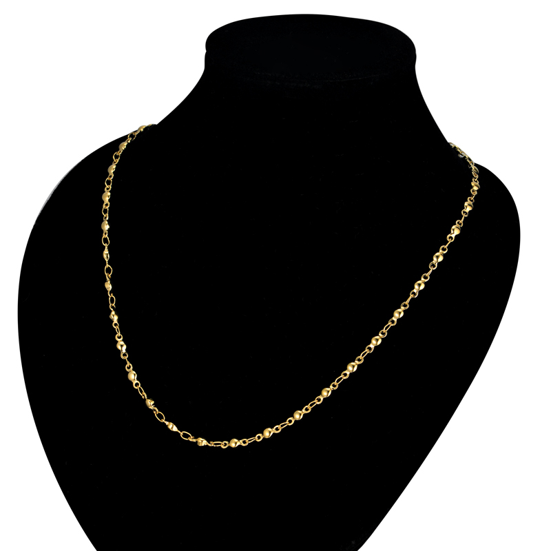 5 Types Of Womens Golden Chain Necklace For Women Men Trendy Necklace Gold Color Stainless Steel Link Chain For Pendant Jewelry Link Chain Necklace Typesstainless Steel Chain Aliexpress