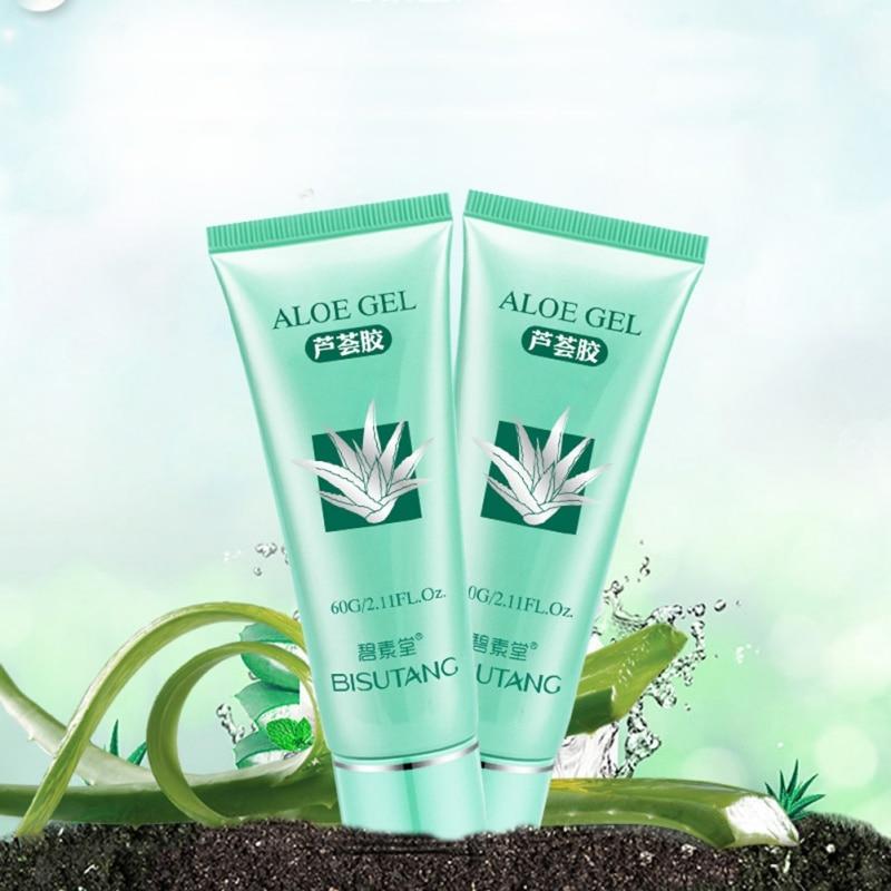 2019 New aloe vera gel anti wrinkle cream acne scar moisturizer whitening repair drying fa