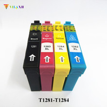 vilaxh T1281 - T1284 ink Cartridge for Epson t1281 Stylus S22 SX125 SX130 SX420W SX235W SX440W SX430W SX438 SX425W SX435W SX445W