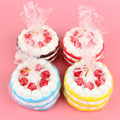 1pcs 12CM Upscale Jumbo Squishy Strawberry Birthday Cream Cake Super Slow Rising Scented
