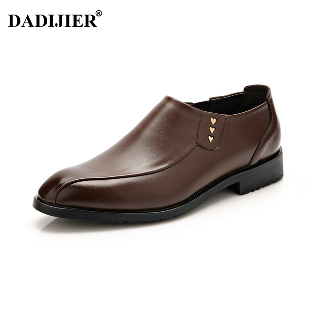 Men Trendy Slip-on British Style Leather Casual Shoes free shipping authentic best place to buy get authentic cheap price visit new online hRFwhArYVj