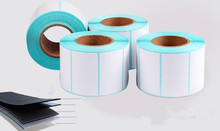 1 rolls POS thermal label paper size 40x20mm use for Thermal printer Labels blank stickers (total 1000 labels)