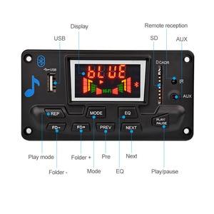 Image 2 - AIYIMA 12V 4.2 Bluetooth MP3 dekoder ses modülü spektrum ekran kayıpsız APE çözme desteği APP EQ FM AUX araba aksesuarları