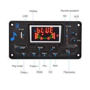 Image 2 - AIYIMA Módulo de Audio con decodificador MP3, 12V, 4,2 Bluetooth, pantalla de espectro, sin pérdida, APE, decodificador, compatible con aplicación EQ, FM, AUX, accesorios para coche