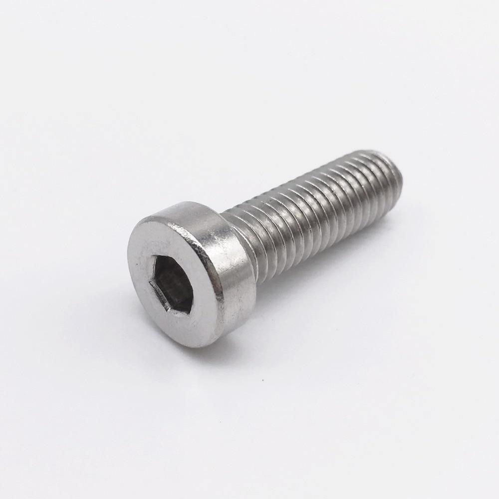 M6 Screws Low Profile Cap Screws Socket Head Hex Bolt Stainless Steel Metric Fastener m6 screws low profile cap screws socket head hex bolt stainless steel metric fastener