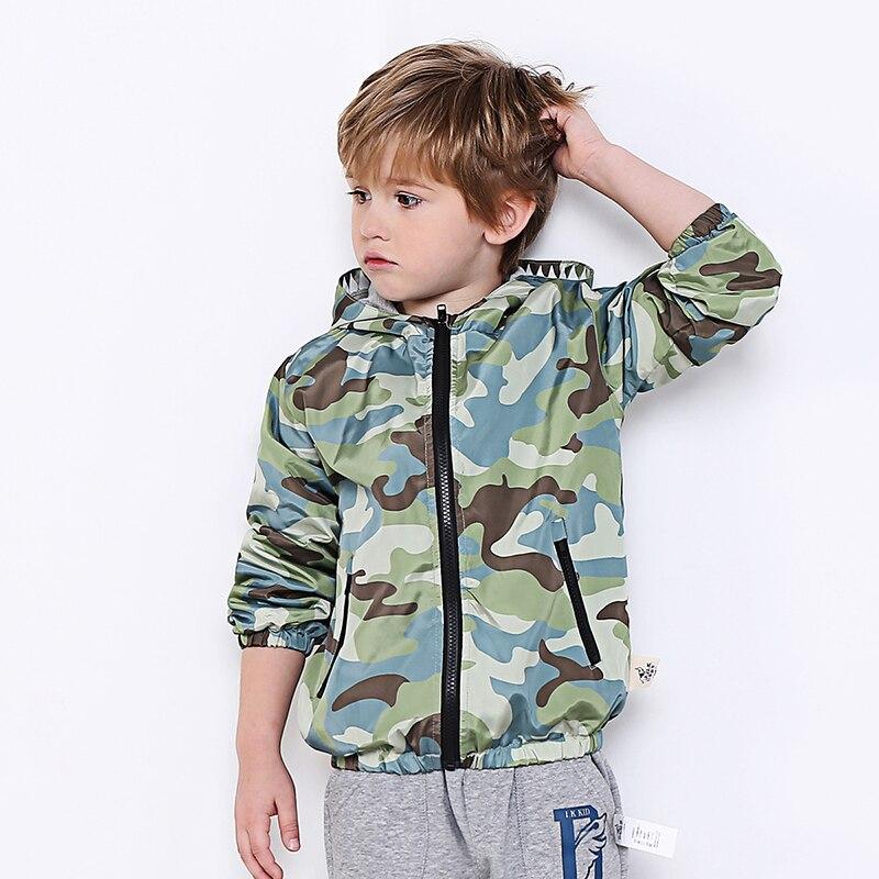 2018 новые весенние для маленьких мальчиков теплая двухслойная куртка для малышей Детский кардиган верхняя одежда с капюшоном модная куртка ...
