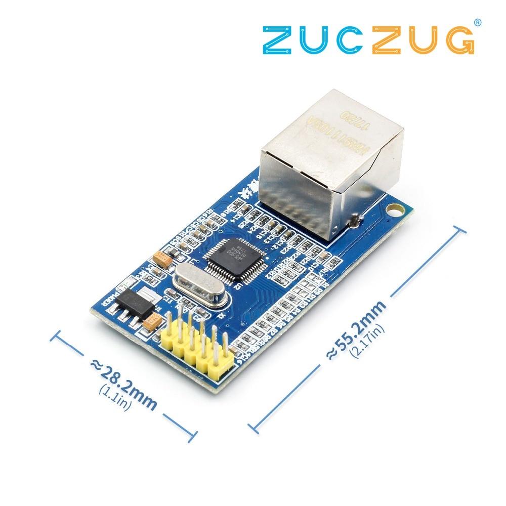 For Arduino W5500 Ethernet Network Modules For Arduino TCP/IP 51/STM32 SPI Interface 3.3V 5V I/O MCUFor Arduino W5500 Ethernet Network Modules For Arduino TCP/IP 51/STM32 SPI Interface 3.3V 5V I/O MCU