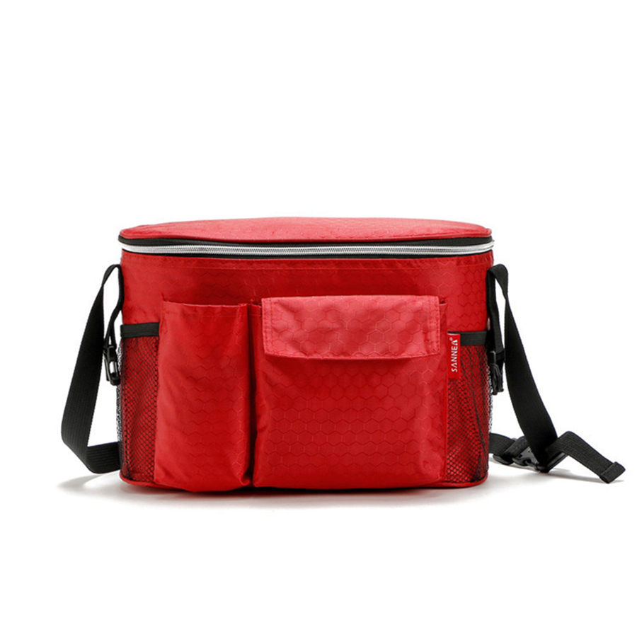 New Insulation Thermal Cooler Lunch Portable bag for Women Kids Small Waterproof Nylon Portable Ice Bags for Picnic