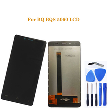 Сверхтонкий ЖК дисплей с сенсорным экраном 5,5 дюйма для BQ S 5060 BQS 5060, дигитайзер, запчасти для ремонта ЖК дисплея BQ S 5060