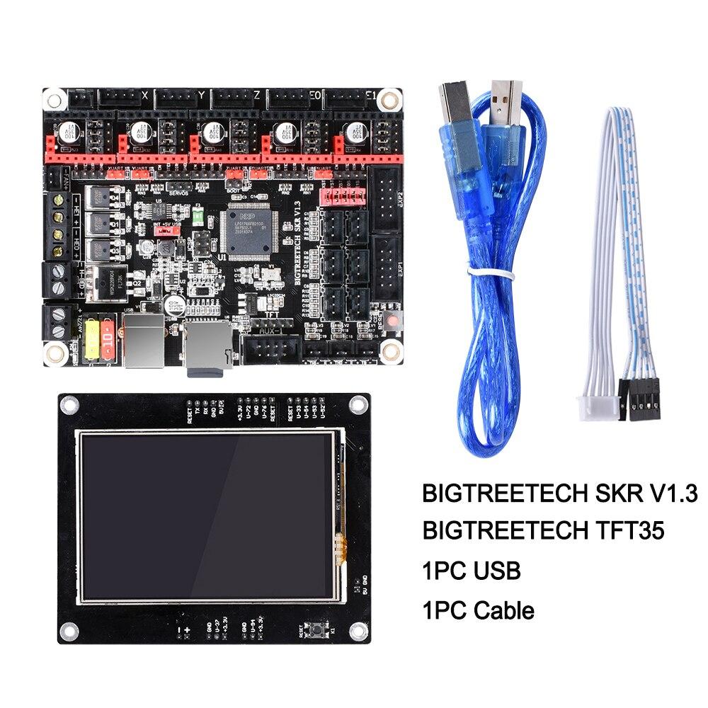 BIGTREETECH SKR V1.3 Conseil 32-Peu CPU Planche à LAVER + TFT35 V1.2 écran Tactile + BLtouch CAPTEUR Reprap MKS GEN L pour 3D Imprimante pièces