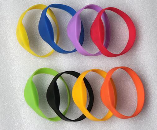 RFID EM4100 Wristband Bracelet ,ID Wrist Strap 125K / ID Watch Card / RFID Sauna Club Hand Card,min:4pcs