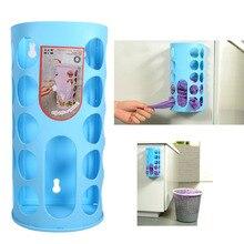 Бытовая Кухня продуктовый мешок держатель пластиковый мешок диспенсер настенный мешок для мусора корзина для хранения переработанная пластиковая сумка для покупок