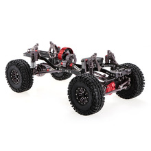1/10 Cool Racing CNC Aluminium en Carbon Frame AXIALE SCX10 Chassis 313mm Wielbasis Auto Frame