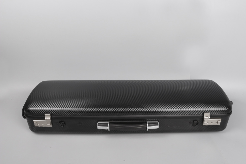 Violin Case carbon Fiber 4/4 Rectangle Strong  white   Sheet bag Code Lock fpvo 11 yogon gray 70% carbon fiber 4 4 violin case grey