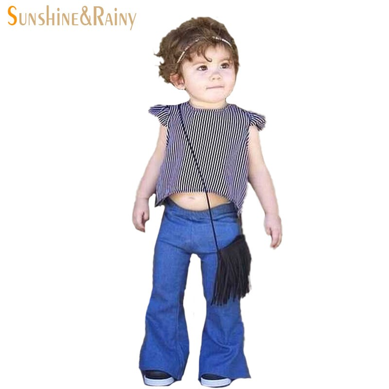 Infant Kids Bell-bottomed Pants