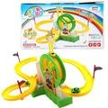 Electric Track Slide Amusement Park Kids Funny music light Ferris wheel park Assembled Toy Children Educational Birthday Gift