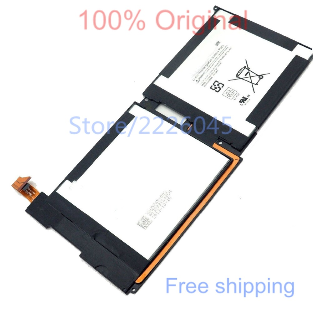 US $19 11 |New Laptop Battery for Microsoft Surface RT SAMSUNG SDI  21CP4/106/96 P21GK3 7 4V 31 5Wh-in Tablet Batteries & Backup Power from  Computer &