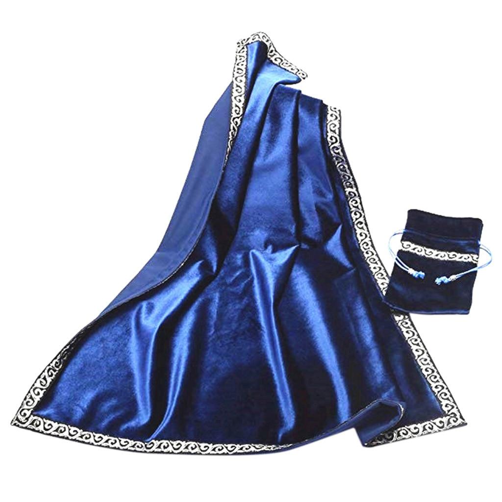 Autel Tarot Table Sac en tissu decor Divination Cartes Wicca Carré Nappe Pochette