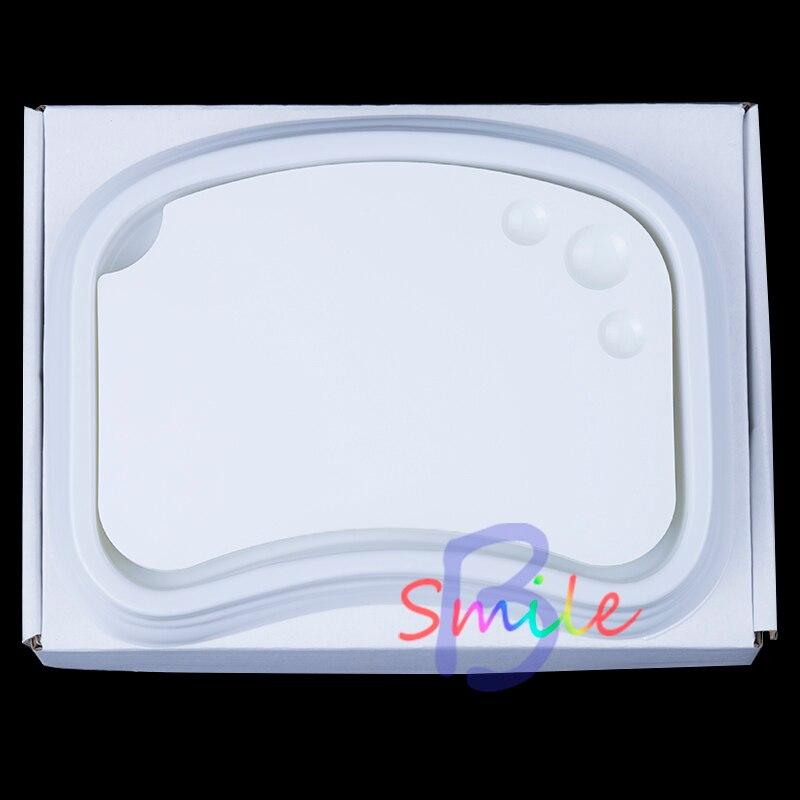 1 ชุดทันตกรรมวัสดุเซรามิค Palette ผสมแผ่นคราบแป้งผสมพอร์ซเลน Detal เครื่องมือเปียกถาดคุณภาพที่ดีที่สุด-ใน อุปกรณ์ฟอกฟันขาว จาก ความงามและสุขภาพ บน   1