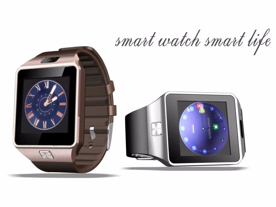 2db9282fbbb4 Reloj inteligente Reloj Con Ranura Para Tarjeta Sim Empuje Mensaje  Conectividad Bluetooth Teléfono Android Mejor Que Smartwatch DZ09 Reloj de  Los Hombres