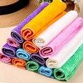 5 шт. кухонные антижировые тряпки эффективная Ткань для очистки бамбукового волокна многофункциональные чистящие инструменты для мытья посуды для дома - фото
