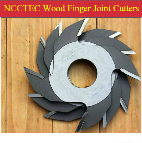 6.4'' 160mm NCCTEC Alloy Wood Splicing Blades NWJ16044 | 160*4*4T Mm Wooden Finger Joint Cutter Joint Depth 7mm 9mm 12mm