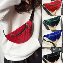 2019 Fashion Women Waist Bag Solid Color Leather Fanny Pack Casual Belt Bag Travel Hip Bum Bag Small Purse Chest Pouch fashion brand lattice ladies bag high quality waist fanny pack belt bag pouch travel hip bum bag women leather small purse