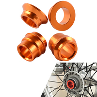 Motorcycle Front Rear Wheel Spacer Hub Collars For KTM 125 150 200 250 300 350 400 450 SX SXF SX F 2015 2016 2017 2018 Motocross