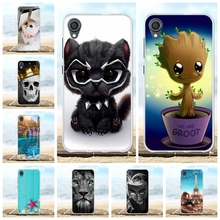 For Asus ZenFone Live L1 ZA550KL Case TPU Cover Lion Patterned Shell