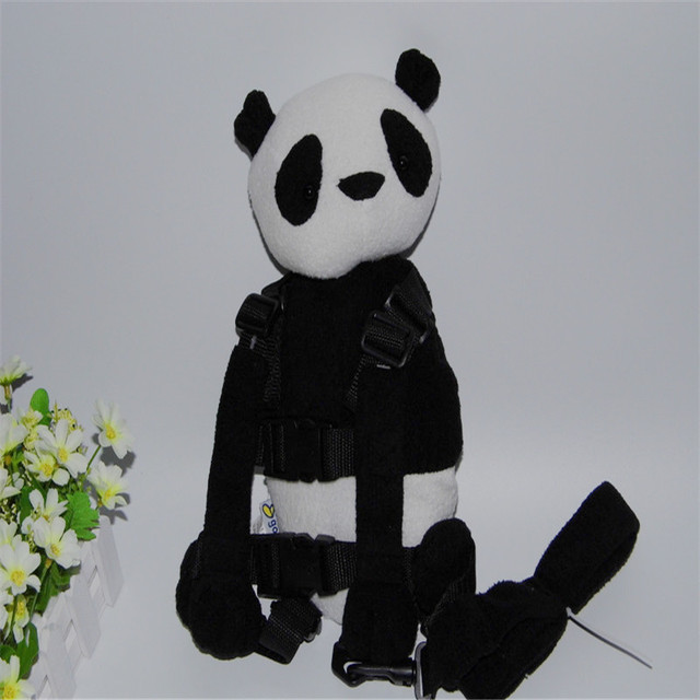 Buddy Harness Panda Girl Boy 2-in-1 Baby Backpack Safe Walking Reins for Children Aged from 1 to 3