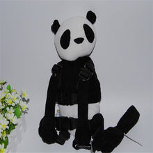 Buddy Harness Panda Girl Boy 2-in-1 Baby Backpack Safe Walking Reins for Children Aged from 1 to 3(China)