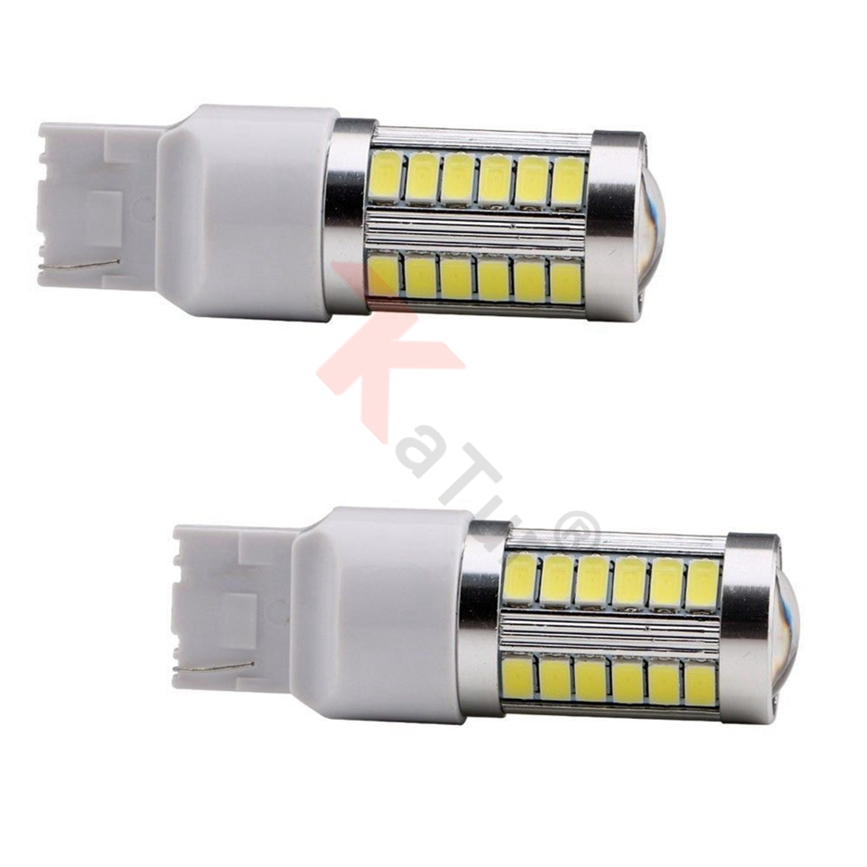 2pcs 7440 7440NA 7441 992 5630 33-SMD Azul 900 Lumens LED Turn Tail - Faróis do carro - Foto 3