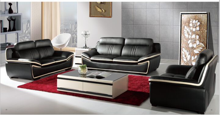 sofa set living room furniture font modern leather recliner black bed sleeper contemporary