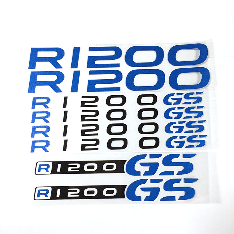 Prix pour Moto Autocollants RÉFLÉCHISSANTS CARÉNAGE Stickers pour BMW R 1200 GS