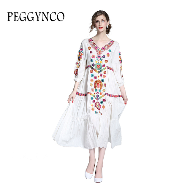 Cotton Plus Size Gowns Dresses For Woman