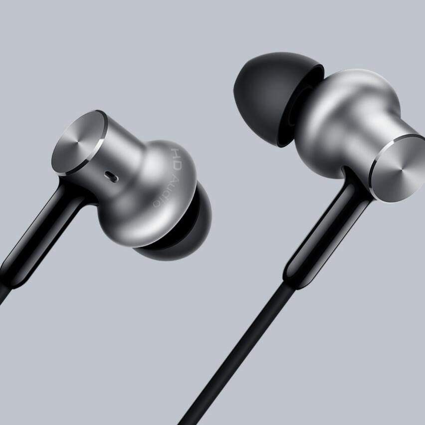 100% Original Xiaomi Mi Hybrid Pro Earphone Piston 4, Mi In-Ear Multi-unit Circle Iron Pro Earphones original xiaomi mi hybrid earphones mi in ear headphones pro piston headphone mic circle iron for phone music player