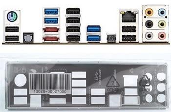 Новая защитная задняя пластина I/O для материнской платы SABERTOOTH 990FX R2.0 just shield backplate Бесплатная доставка