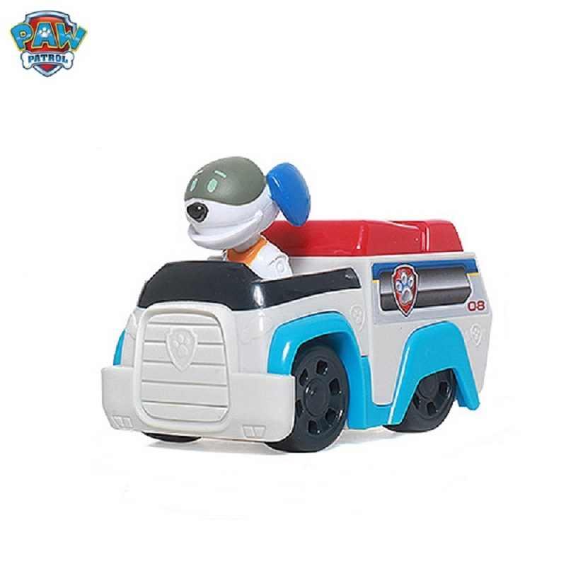 Nueva Paw Patrulla perro Patrulla Canina Juguetes figuras de acción modelo de juguete Patrulla Pata Brinquedos Juguetes para niños regalos