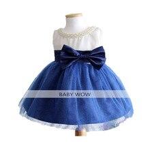 Bbwowlin recém-nascidos vestidos da menina do bebê roupa da criança para o casamento aniversário pary natal for0-2t crianças princess dress 80183