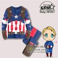 Super Hero Kids Boys Clothes Sets Halloween Cospaly Costume Children Hooded Jackets Outdoor Sports Tracksuits