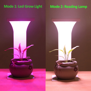 Image 5 - Temporizador usb espectro completo led cresce a luz para as plantas que crescem a lâmpada luzes de leitura interior ir vu phyto auto on/off lâmpadas de crescimento de mesa