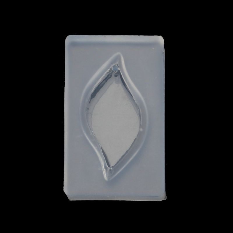 Leaf Pendant DIY Silicone Mold Resin Casing Craft Jewelry Making Tools