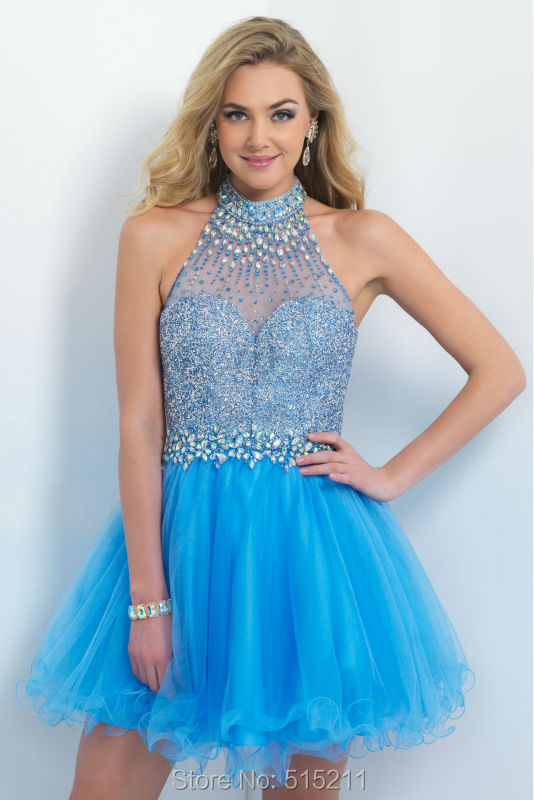 Popular Blue Puffy Dress-Buy Cheap Blue Puffy Dress lots from ...