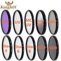 KnightX 52 мм 58 ММ 67 ММ 72 ММ 77 ММ Постепенное синий цвет неба ФИЛЬТР УФ CPL FLD ФИЛЬТР ОБЪЕКТИВА для Nikon D3100 D3200 D5200 D7100 18-55 мм