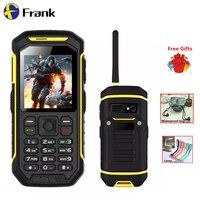 Original Walkie Talkie IP68 Waterproof Phone GPS BT 2500 Battery Shockproof Dustproof Phone